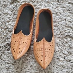 Handcrafted Leather Flats